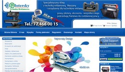 Plotersky - Technika reklamowa