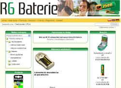 R6 Baterie
