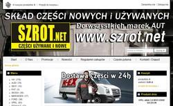 Częœci Używane Szrot.net
