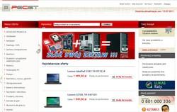 PeCet - Sklep Komputerowy