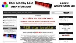 RGB Display LED - Wyœwietlacz