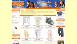 e-zygzak ubranka dla dzieci