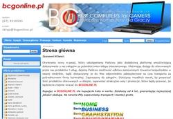 BCG Online