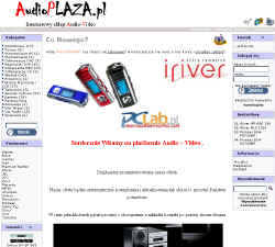 Internetowy sklep Audio Video